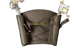Kayak Seat Back Pack with Dual Rod Holders Fishing Accessories Clips to Backrest