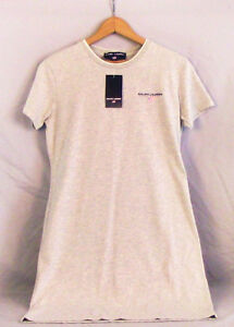 Ralph Lauren Polo Sport Gray T-shirt Dress Womens Size Small SS Cotton Tennis