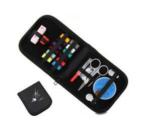 Black Mini Beginner Sewing Kit Case Set with All Basic Sewing Supplies for Kids $6.06