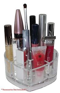Valentine Heart Organizer Small Cosmetic Makeup Brush Holder Quality Acrylic NIB