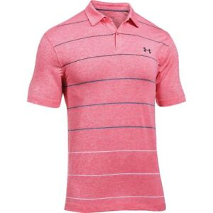 Under Armour Coolswitch Pivot Stripe Polo Shirt - Men's