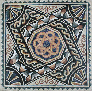 Celtic Design Geometrical Square FLOOR Art 40