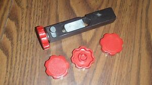 One RED knob for Dillon powder bars; SDB RL550B XL650 1050; Made in the US!