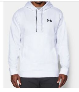 Under Armour Men's UA Storm Armour Fleece Hoodie White 4XLT Christmas Gift