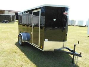 5 x 10 10' Enclosed Cargo Landscape Camping Construction Trailer Tyler Canton TX