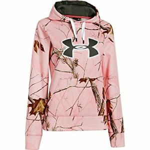 Under Armour UA Camo Big Logo Hoody - Women's - Choose SZColor