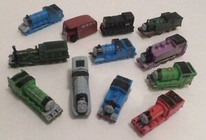 Thomas the Tank Engine & Friends Train Figure Lot Toy Play Set KitBookMat PVC