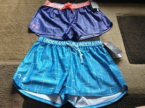 Girls Under Armour loose fit shorts lot of 2 size YLG(NWT)