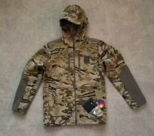 NWT UNDER ARMOUR MEN'S MED UA RIDGE REAPER BARREN 13 LATE SEASON CAMO JACKET