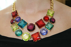 NWOT Kate Spade Kaleidoscope Double Strand Necklace - PARTY COLORFULLY