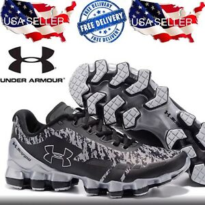 Luxury Brand New Under Armour SCORPIO Gray Black Shoes 8 US Size Free Shipping