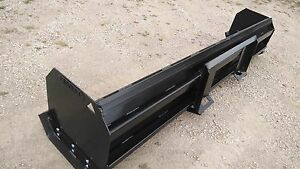 Linville 8ft snow pusher- skid steer