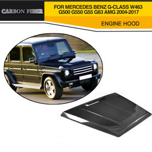Carbon Fiber Engine Hood Fit For Benz G-CLASS W463 G500 G550 G55 G63 AMG 04-17