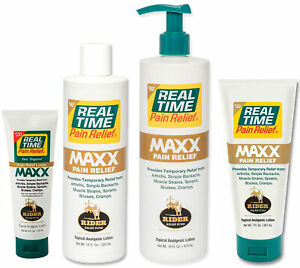 Real Time Pain Relief Maxx Pain Cream $20.00