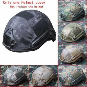 Outdoor Airsoft Tactical For Fast Helmet Cover Pockets Military Hunting Camoufla