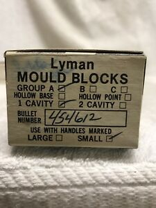 Lyman Mould Block 454612 reloading bullet mold
