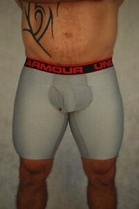 Under Armour Mens 9 Inch BoxerJock - In Oz -  Footy Gym Lifting -