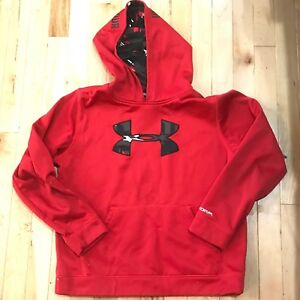 New Under Armour Cold Gear Storm Youth Boys Sweatshirt Fleece Hoodie  X-Large