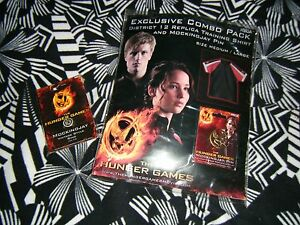 The Hunger Games District 12 Training Shirt Neca Exclusive Combo Pack New