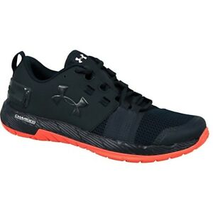 Under Armour Commit TR 1285704288 navy blue halfshoes 8.0