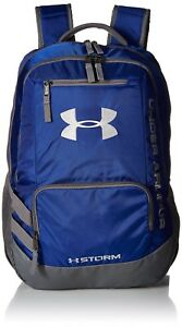Under Armour Unisex Team Hustle Backpack RoyalGraphite One Size