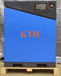 KTH 10 HP VFD 35 CFM 110 PSI Brand New Screw Air Compressor With Air Dryer Combo