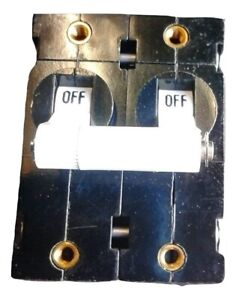 Clarke American 30amp-2 pole Switch Circuit Breaker 30 AMP Part # 41411A