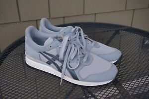 DEADSTOCK VTG 1985 Mens Asics Tiger Ultra 1000 Gray JAPAN 11 Running Shoes RARE