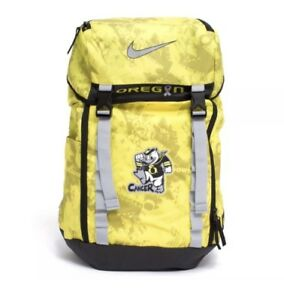 Nike DB Doernbecher Freestyle Backpack Oregon Ducks Stomp Cancer Yellow RARE
