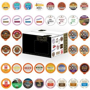 Perfect Samplers Coffee Pods Variety Pack 40 Count for Keurig K Cups Makers