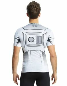 (XL)Limited Edition Under Armour Star Wars Storm Trooper Men's Compression Shirt