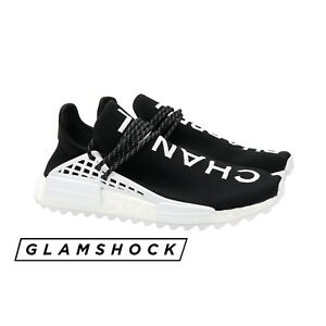 SOLD OUT CHANEL x PHARRELL x ADIDAS NMD HU Colette Black Sneakers 44 EU 10 US