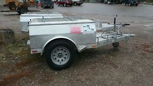 CampingHunting or CargoUtility Trailer-Aluminum body