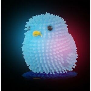 FUNKY DISCO CHICK TOY 28395 CUTE LITTLE FLASHING CHICK JUST TAP IT ON THE HEAD
