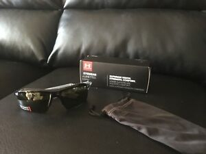 Under Armour Eyewear Core 2.0 Sunglasses Shiny Black Game Day New with tags
