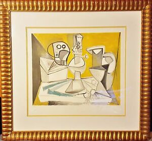 Pablo Picasso Hand Signed by Marina Picasso Estate Collection Limited Edition