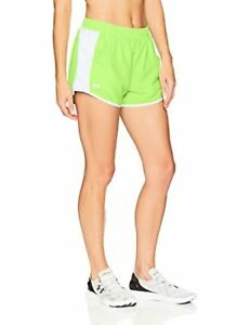 Under Armour Women's Fly-By Printed Shorts - Choose SZColor