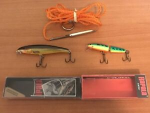 Rapala Lures Baits Limited Edition Long Cast and Jointed + FREE Stringer