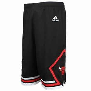 Youth Chicago Bulls Climalite Performance Shorts NBA Adidas Official