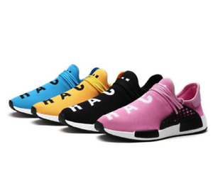 New Men Shoes Tenis Designer Casual Mesh Luxury Breathable Human Race Trainers