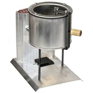 Electric Metal Melter Melting Pot Furnace Casting 20 Pound Adjustable Mold Guide