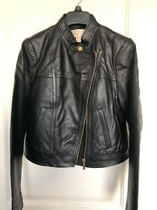 MICHAEL KORS Authentic Leather Moto Jacket (NEW WITH DEFECTS READ DESCRIPTION)