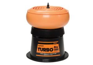 Lyman Turbo Pro 1200 Tumbler 115-Volt Ammo Rifle Gun Reloading Brass Cleaner