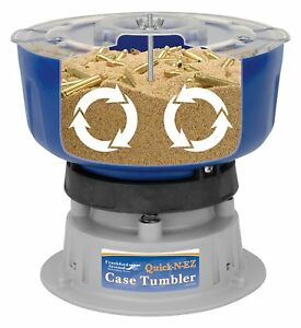 Case Tumbler Kit Cleaning Ammo Shell Polish Brass Case Plastic Bucket Arsenal