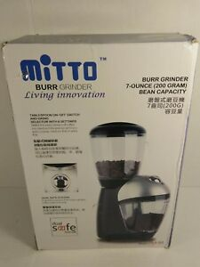 Electric Coffee Grinder Burr Grinder Coffee Grinder Equipped With 420 S... New