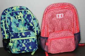 Girls Under Armour School Back Pack 1260542 NWT