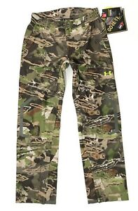 Under Armour Pants Men's UA Storm 3 Gore-Tex Essential Rain Hunting Forest Camo