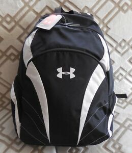 UNDER ARMOUR Men's UA Ignite Backpack Color BlackWhite NEW