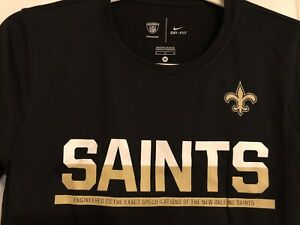 Nike SAINTS DRY-FIT  T-Shirt  NFL YOUTH SIZE M