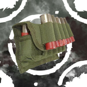 Fast & Light Original Arms Gear Tactical OD Olive Drab Green 17 Shot Shell Pouch